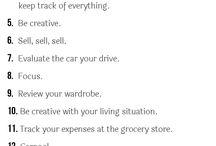 Ways to Save Money!