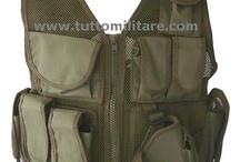 Tutto Militare - Articoli Militari & Militaria / Tactical Vest Olive Drab in Cordura