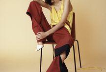 Fashion editorial poses