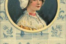 Vintage ansichtkaarten
