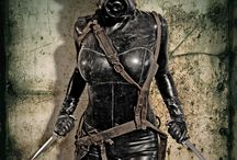 Dieselpunk / Sitting between HP Lovecrafts steampunk and the Stainless steel rats Cyberpunk is a world of the dawn of mechanical war and occult worship. This is Dieselpunk