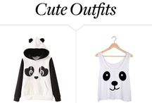 Cute outfits.