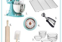 Baking Essentials / Anything and everything bakers must have for equipment, ingredients and just plain fun items!!