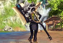 Blade & Soul Weapons / From axes to daggers, see how different weapons look like in Blade & Soul