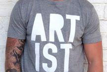 T-shirts con le scritte