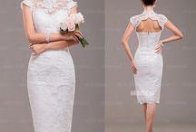 dress, wedding, accessories