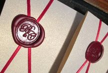 Wax Seals / A great feature to add to any invitation or envelope
