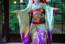 芸者、着物 , gésa , kimonó