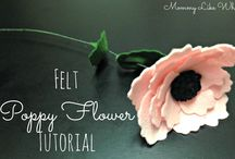 flori burete spuma