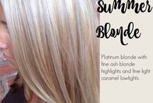 Warm blond
