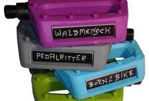 meinpedal - DaWanda-Shop / Persönliche Pedalen für's Mountainbike, BMX oder andere Fahrräder. Neu auf DaWanda.