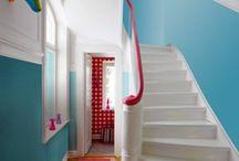 Colorful Interiors - Väriä elämään / Pirtsakoita ja värikkäitä sisustuksia