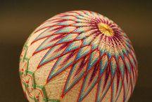 Needlework - Temari