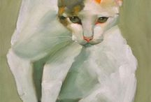 Art Cats for inspurations / by Linda East