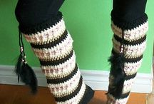 Crochet slippers, boot and knee high patterns / Crochet slippers, boots, shoes and knee highs.  All patterns easy to follow and written in US terminology.