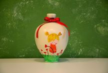 ceramic money box / a handmade ceramic money box