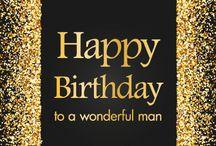 Happy Birthday Mr. Smith / Feliz cumpleaños Sinceramente deseamos que todos sus deseos se hagan realidad. Gracias por ser mi amigo.