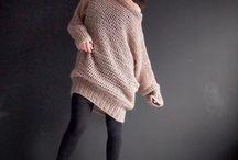 Sweater oversize (crotchet)