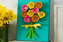 crafts from recycled material
