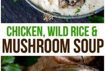 Chicken WILD RICE MUSHROOM