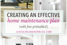 Home Maintenance / Home Maintenance Information