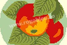 Modele cu fructe si legume / Modele de goblen