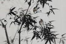 растения рисунок