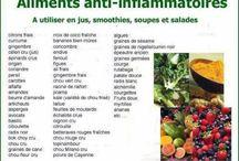 aliments anti- inflammatoires