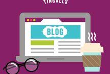Tingalls Tips & Tricks / Graphic design, website design, typography, illustration tips & tricks.