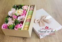 Paperflowers arrangement