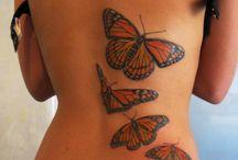 Schmetterlingstatoo