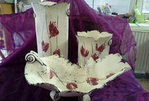 My works - Vases and bowls / Items for order and sale... Megvásárolható vázák és tálak