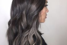 Fryzury, ash brown / My favourite hair, awesome colour!