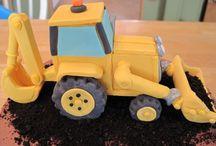 jármű torta