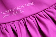 Sew with a serger!!!!!