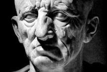 sculptures personnages fameux.
