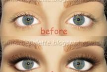 Eyes lips face <3 / by Hannah Petrucick
