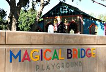 Visitors of Magical Bridge Playground / Repins from all our friends who have visited Magical Bridge!