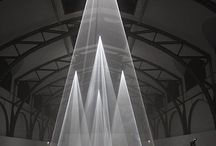 Light, instalation, space
