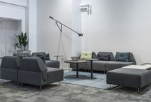 Creative Lounge Areas / Lounge areas creates well-being and a more home-like environment at the office. These areas are highly appreciated and acts as motivator for the employees. I addition, they can be functional meeting places that significantly contributes to an improved acoustic environment in open-plan offices.