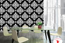 NinjaPaper / You don't have to overspend and over think with wall décor anymore because removable wallpaper is here to be your affordable and temporary design solution. Our high-quality wallpaper goes on easy and comes off easy so that you can design and re-design your walls without damaging walls. Simply order your wallpaper online and install for a temporary design that looks permanent. Embrace your inner artist and use your walls as your canvas to bring your design dreams to life.