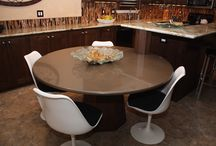 Purposeful Dining Spaces / Industrious Interiors' completed dining rooms.