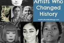 kvinnliga konstnärer
