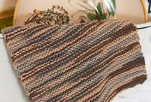 Knitted Washcloths / Towels