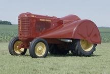 Retro tractor