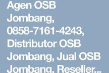 Agen OSB Jombang, Agen OSB Bandar kedung, 0858-7161-4243 (WA/Call)
