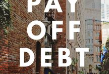 Getting out of debt / Paying down debt and becoming debt free.