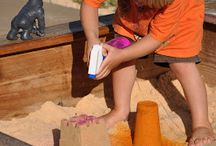 Sand/Sensory Table / by Nicole Foster