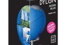 DYLON Okyanus Mavi - Ocean Blue - Fabric Dye With Salt