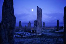 Magick stones and places / The places where we've been, magical memories and the places we've yet to visit.